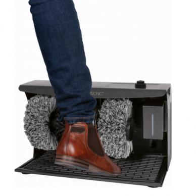 Elektriskā apavu kopšanas mašīna Clatronic 2+1 Anthracite 3