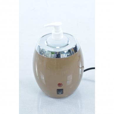 Elektrinis masažo aliejaus šildytuvas su buteliuku aliejui 2