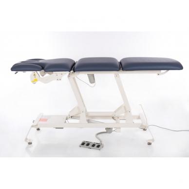 Elektriskās masāžas galds CAMINO TREATMENT AGATE BLUE 4