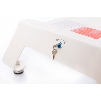 Elektrinis masažo stalas CAMINO TREATMENT AGATE BLUE 9