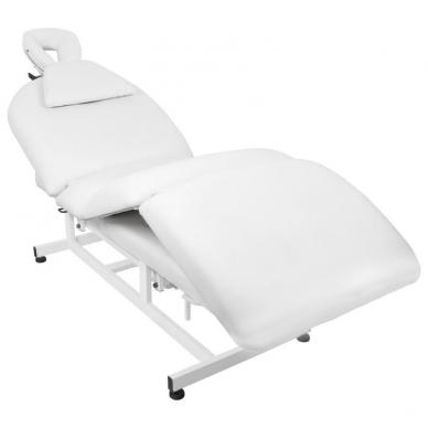 Elektrinis masažo stalas AZZURRO MASSAGE 6 WHITE