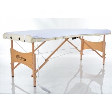 Elektrinis šildantis masažo stalo užtiesalas