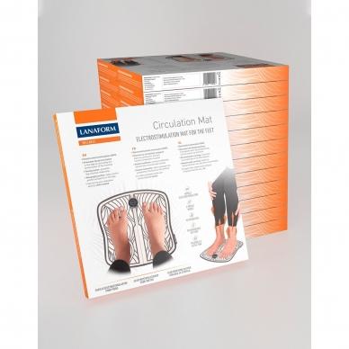 Elektrostimuliatorius - pėdų paklotėlis Lanaform Circulation Mat 11