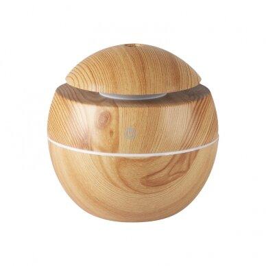 Eterinių aliejų garintuvas SPA BALL LIGHT WOOD (M) (1)
