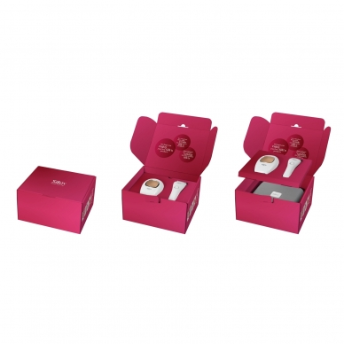 Fotoepiliatorius Silk'n Infinity Premium Smooth 500.000 + Silk'n LadyShave Wet&Dry 12