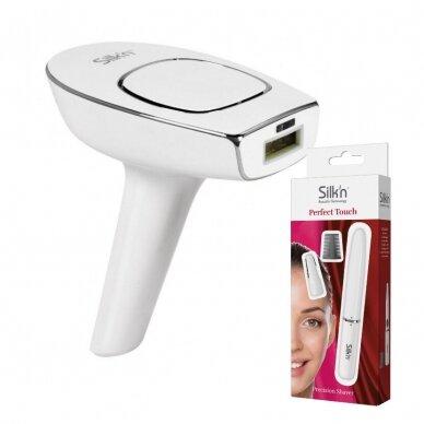 Fotoepilaator Silk'n Motion 350.000 + Juuste trimmer Silk'n Perfect Touch
