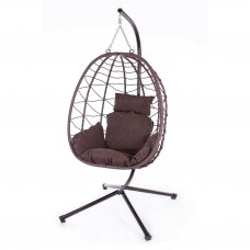 Riputatav tool-kiik muna (kokkupandav)
