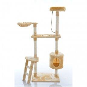 Кошачий домик - когтеточка 150cm BEIGE