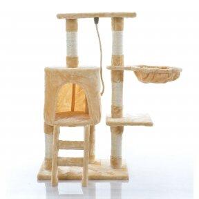 Кошачий домик - когтеточка 89cm BEIGE