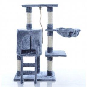 Kaķu māja - nagu asināmais 89cm BEIGREYGE