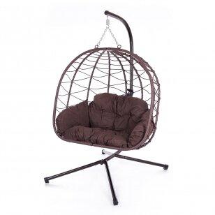 Riputatav tool-kiik muna DOUBLE (kokkupandav)
