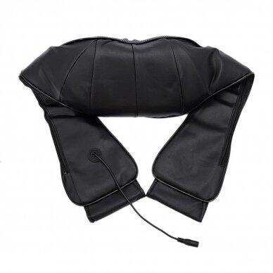 Kaklo ir nugaros masažuoklis SHIATSU NECK AND BACK BLACK (PROMO) 2