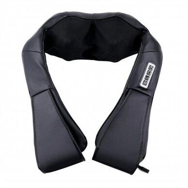 Kaklo ir nugaros masažuoklis SHIATSU NECK AND BACK BLACK (PROMO)