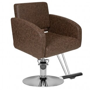 Kirpyklos kėdė HAIRDRESSING CHAIR MODEL B BROWN