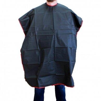 Kirpyklos pelerina UNISEX BLACK