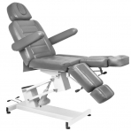 Kosmētikas krēsls AZZURRO ELECTRIC PEDI GRAY