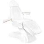 Kosmētikas krēsls ELECTRIC LUX WHITE (3 elektromotori)