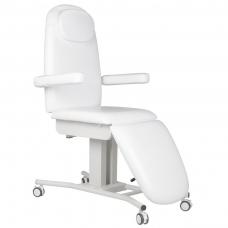 Kosmetologinis krėslas WHEELS WHITE