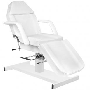 Kosmētikas krēsls HYDRAULIC WHITE