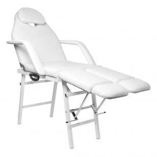 Kosmetologinis krėslas PEDI WHITE