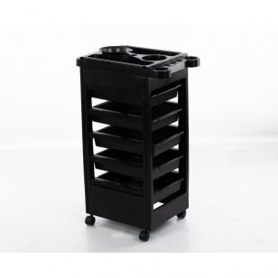 Kirpėjo vežimėlis su sienelėmis (5 stalčių)
