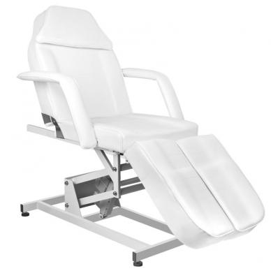 Kosmetologinis krėslas ELECTRIC PEDI WHITE