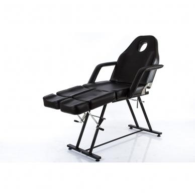 Kosmetologinis krėslas su atskirai reguliuojamomis kojų dalimis Beauty 2 (Black) 10