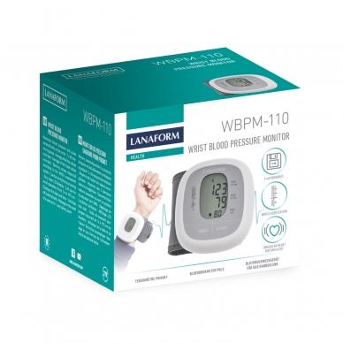 Kraujospūdžio matuoklis Lanaform WBPM-110 5