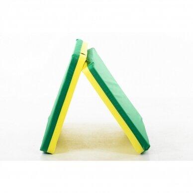 Laipiojimo kopėtėlių saugumo kilimėlis 66x120 cm GREEN 4