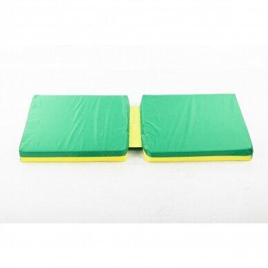 Laipiojimo kopėtėlių saugumo kilimėlis 66x120 cm GREEN 7