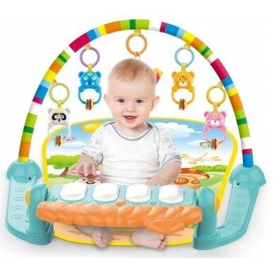 Izglītojošs paklājiņš bērniem 0-36 mēnešus 3
