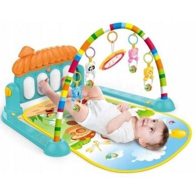 Izglītojošs paklājiņš bērniem 0-36 mēnešus 4