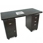 Manikīra galds ar putekļu savācēju DESK TWO CABINETS