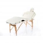 Sulankstomas masažo stalas Vip 4 (Cream)
