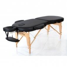 Sulankstomas masažo stalas Restpro Vip Oval 2/Black