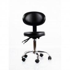 Meistara krēsls Round 5 (Black)