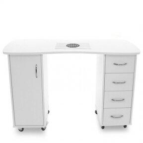 Маникюрный стол с пылесборником CABINETS 2 DESK