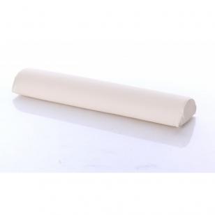 Masažinio stalo pagalvėlė pusinė Cream