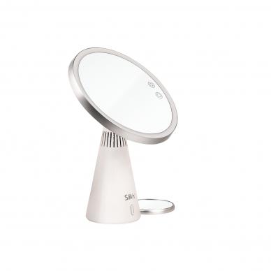 Grima spogulis ar skaļruņiem un LED apgaismojumu Silk'n MusicMirror 6
