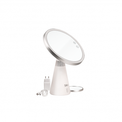 Grima spogulis ar skaļruņiem un LED apgaismojumu Silk'n MusicMirror 9