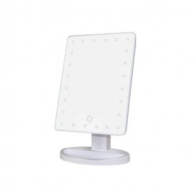 LED-valgustusega peegel meigiks DESK WHITE (1)
