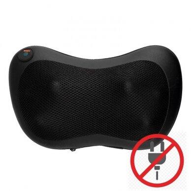 Masažinė pagalvė Shiatsu massager su įkraunama baterija