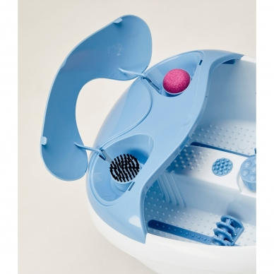 Massaažiga jalavann Lanaform Bubble Footcare 4