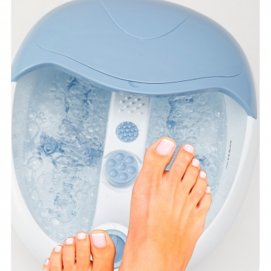Masāžas kāju vanna Lanaform Bubble Footcare 6