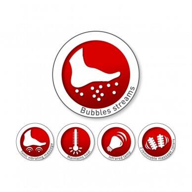 Massaažiga jalavann Impulsion Bubble Bath 3