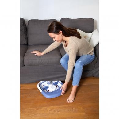 Masāžas kāju vanna Lanaform Heat & Fold Spa 8