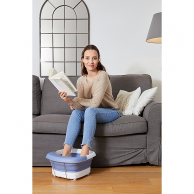 Masāžas kāju vanna Lanaform Heat & Fold Spa 9