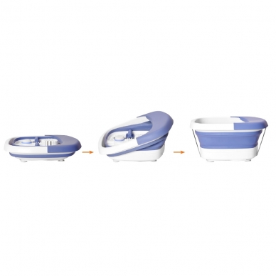 Masāžas kāju vanna Lanaform Heat & Fold Spa 4