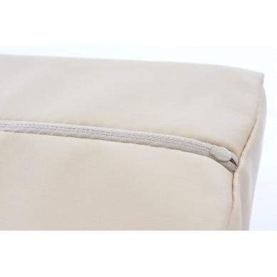 Masažinio stalo pagalvėlė pusinė Memory Beige 2
