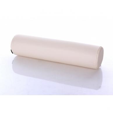 Masažinio stalo pagalvėlė apvali Cream